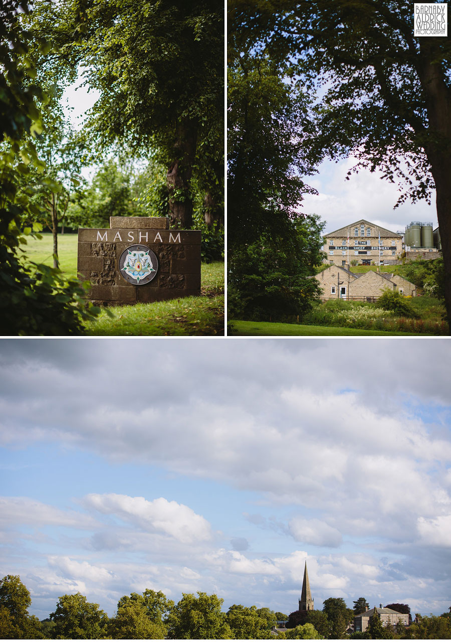 Hill Top Farm Masham Yorkshire Dales Barn Wedding Photography 002