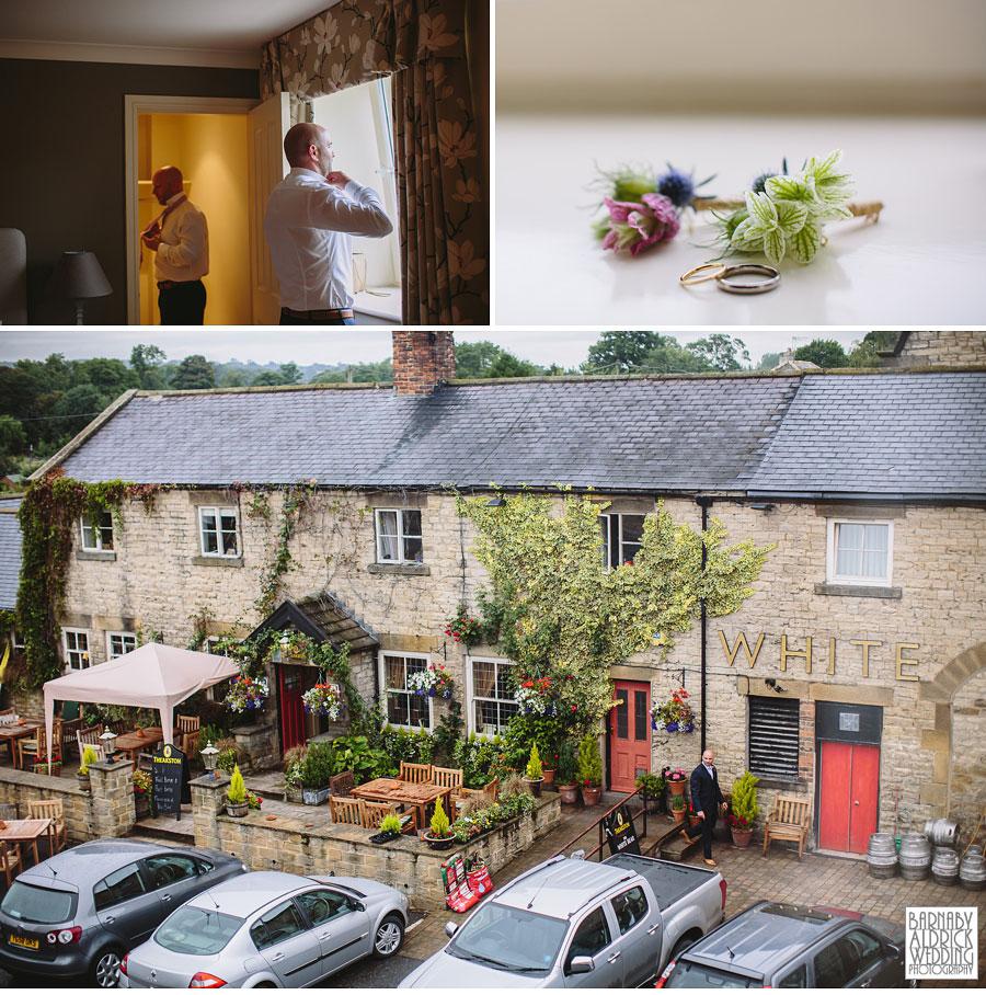 Hill Top Farm Masham Yorkshire Dales Barn Wedding Photography 012