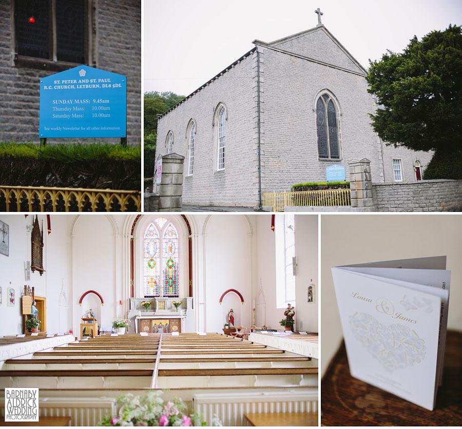 Hill Top Farm Masham Yorkshire Dales Barn Wedding Photography 020