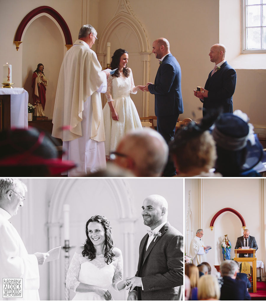 Hill Top Farm Masham Yorkshire Dales Barn Wedding Photography 025