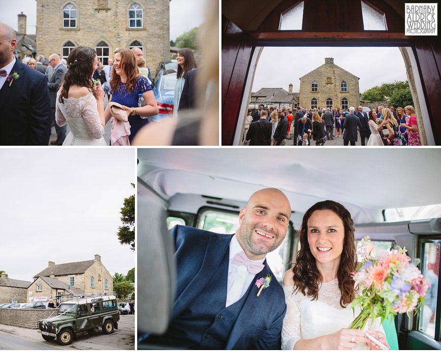 Hill Top Farm Masham Yorkshire Dales Barn Wedding Photography 028