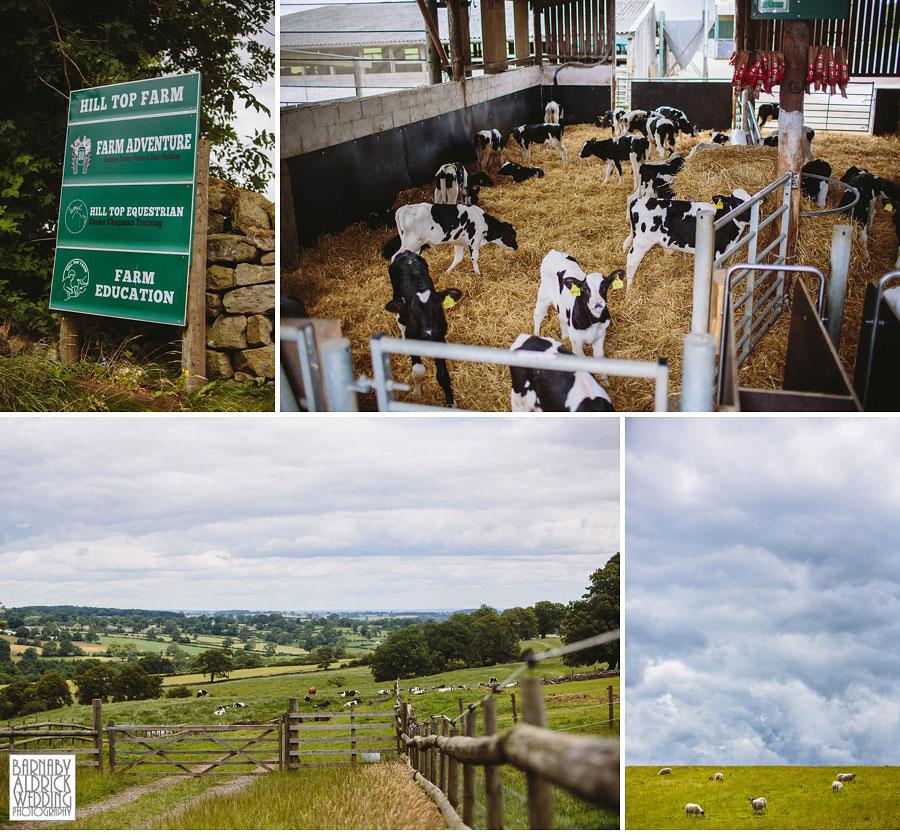 Hill Top Farm Masham Yorkshire Dales Barn Wedding Photography 031