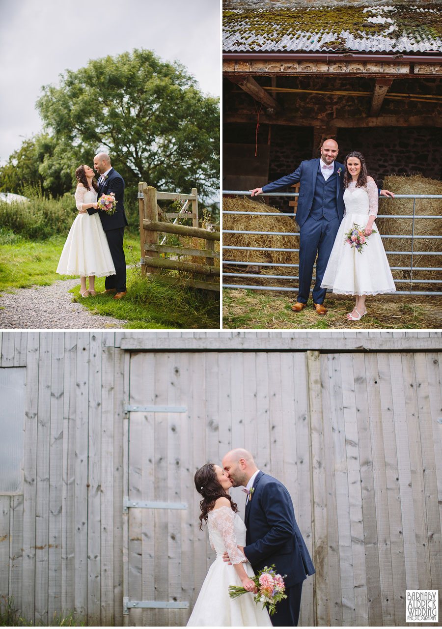 Hill Top Farm Masham Yorkshire Dales Barn Wedding Photography 034