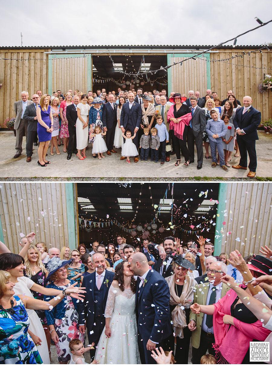 Hill Top Farm Masham Yorkshire Dales Barn Wedding Photography 038