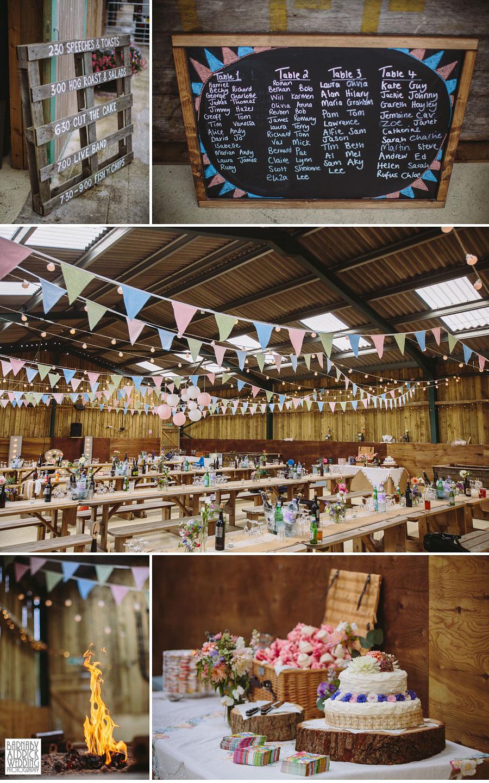 Hill Top Farm Masham Yorkshire Dales Barn Wedding Photography 039