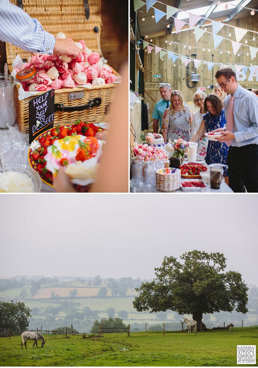 Hill Top Farm Masham Yorkshire Dales Barn Wedding Photography 043