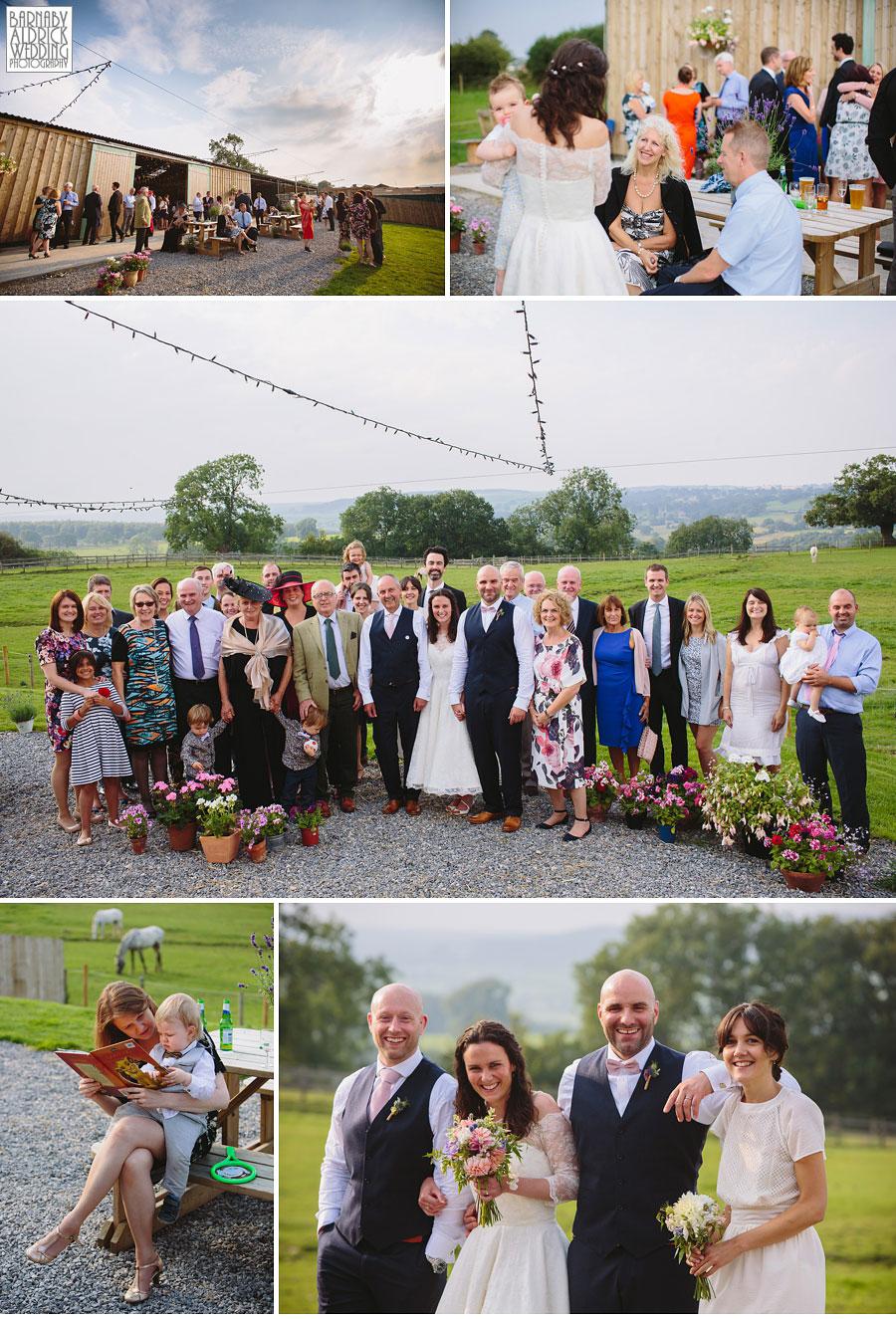 Hill Top Farm Masham Yorkshire Dales Barn Wedding Photography 044