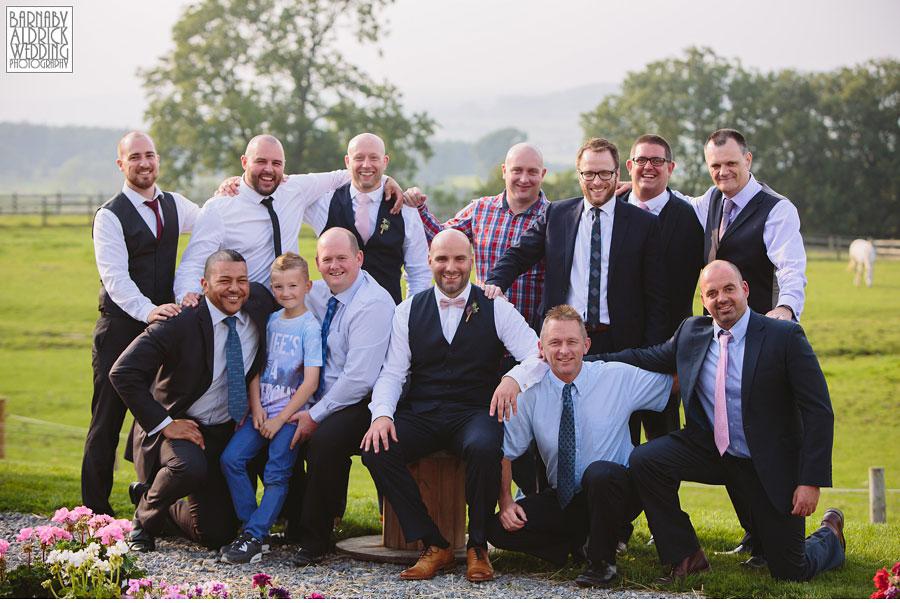 Hill Top Farm Masham Yorkshire Dales Barn Wedding Photography 045