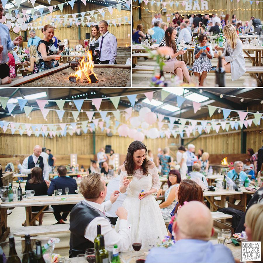 Hill Top Farm Masham Yorkshire Dales Barn Wedding Photography 046