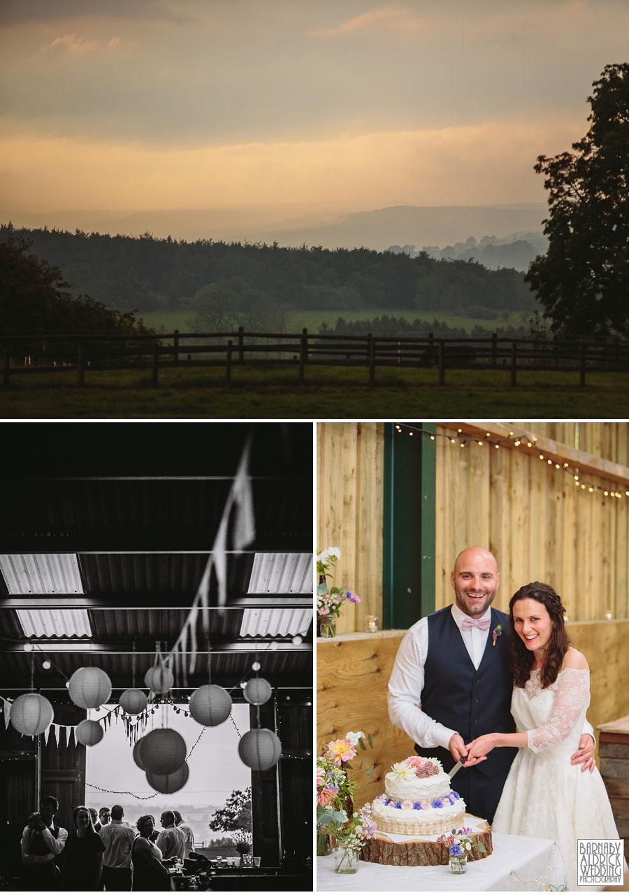 Hill Top Farm Masham Yorkshire Dales Barn Wedding Photography 047