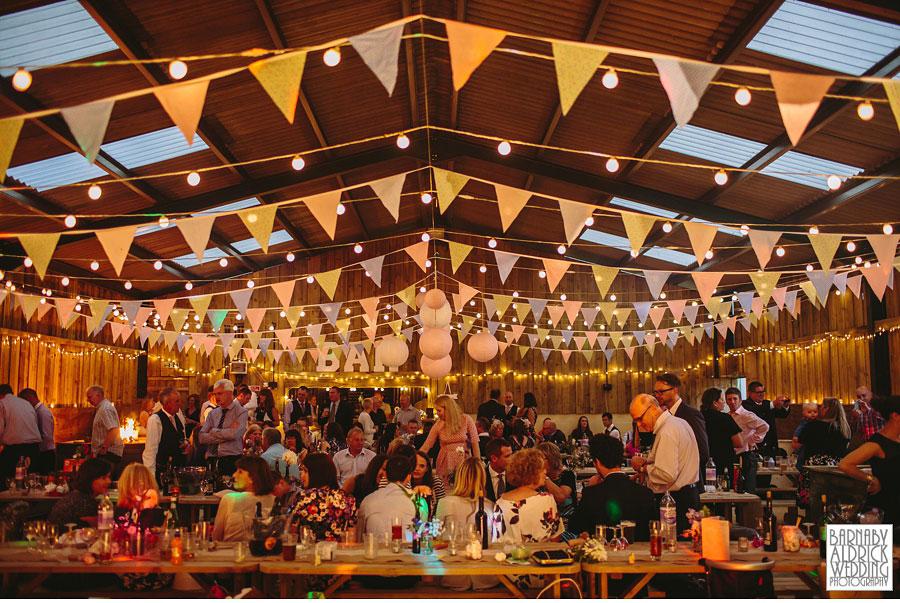 Hill Top Farm Masham Yorkshire Dales Barn Wedding Photography 048
