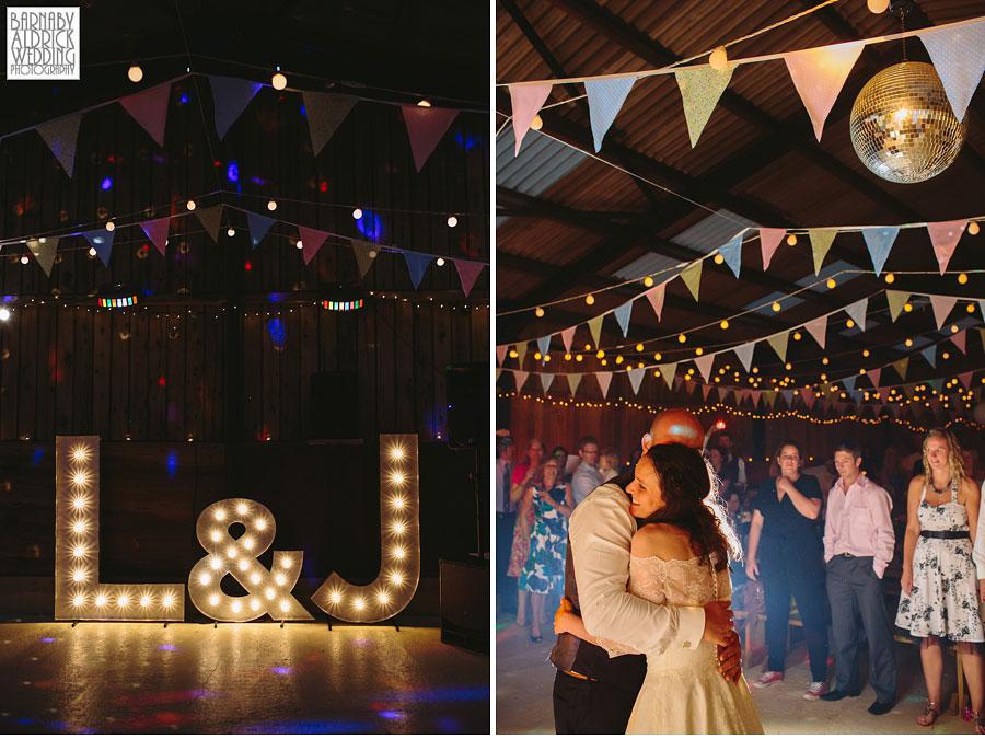 Hill Top Farm Masham Yorkshire Dales Barn Wedding Photography 049