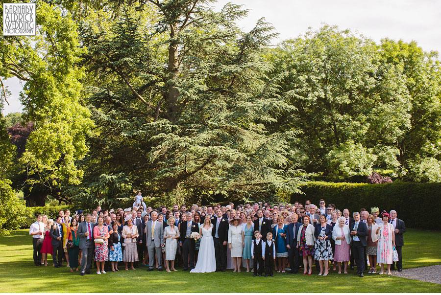 Middleton Lodge Wedding Photography in the Yorkshire Dales by Yorkshire Wedding Photographer Barnaby Aldrick 039