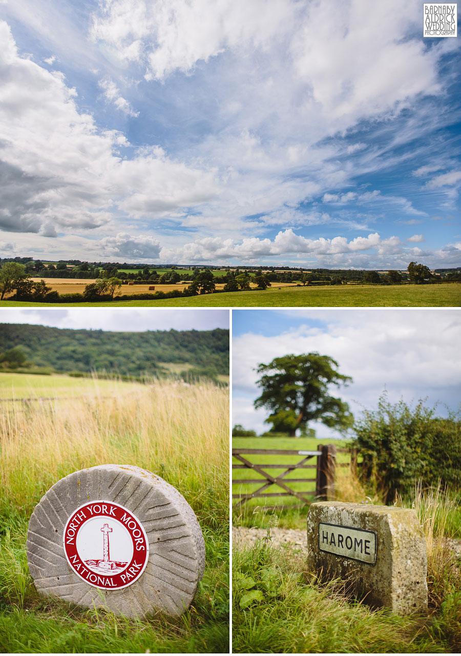 Pheasant Harome Wedding Photography by Yorkshire Wedding Photographer Barnaby Aldrick 005