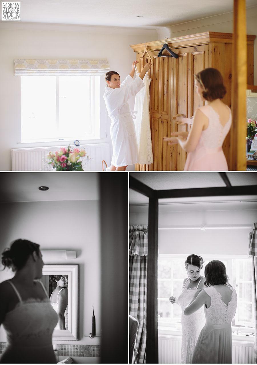 Pheasant Harome Wedding Photography by Yorkshire Wedding Photographer Barnaby Aldrick 025