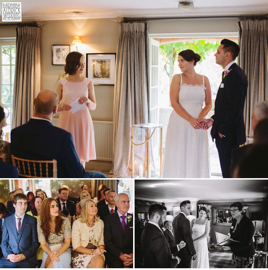 Pheasant Harome Wedding Photography by Yorkshire Wedding Photographer Barnaby Aldrick 030