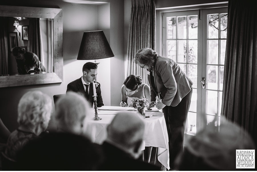 Pheasant Harome Wedding Photography by Yorkshire Wedding Photographer Barnaby Aldrick 033