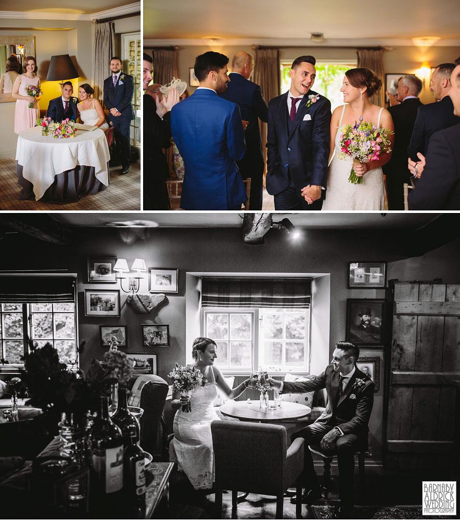 Pheasant Harome Wedding Photography by Yorkshire Wedding Photographer Barnaby Aldrick 034