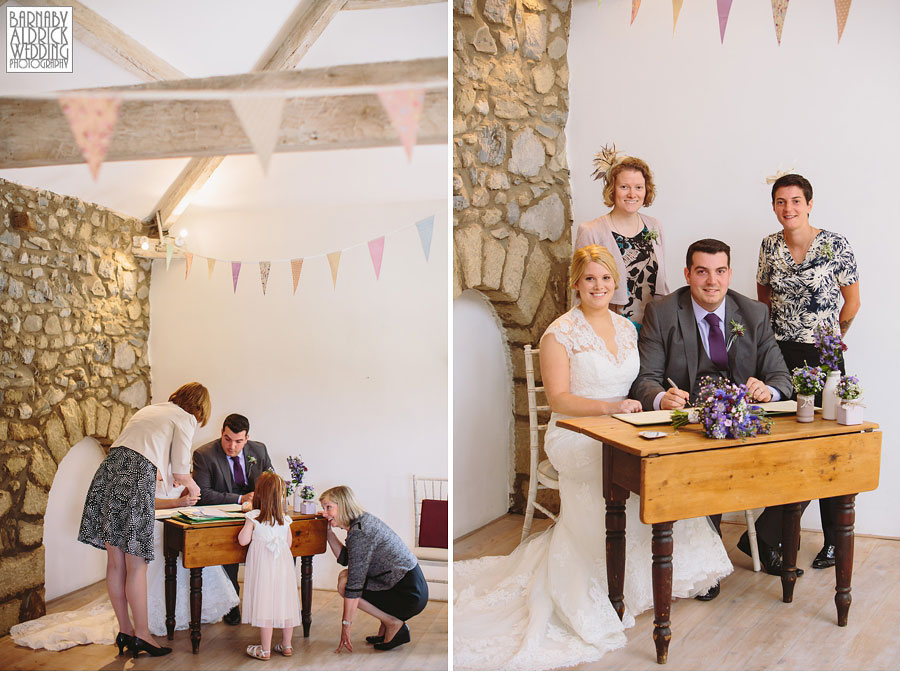 Taitlands Settle Yorkshire Dales Wedding 033