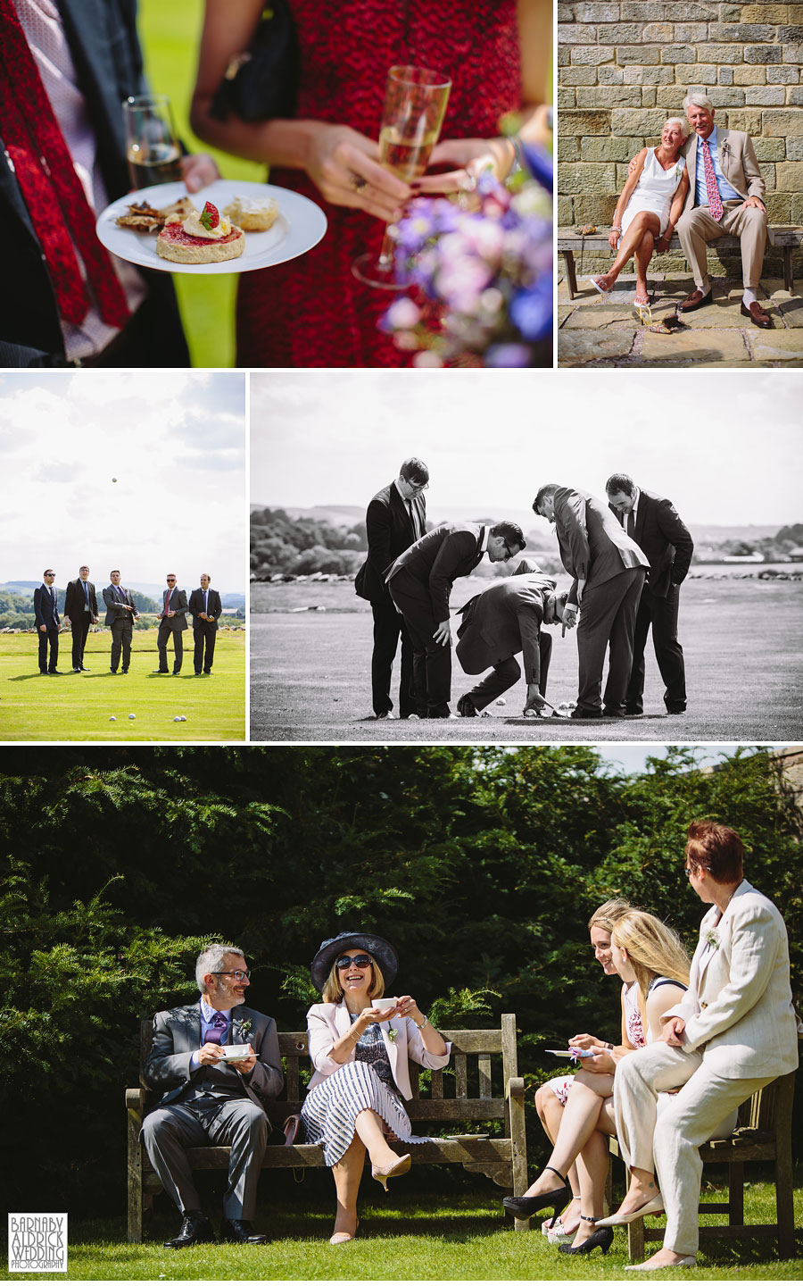 Taitlands Settle Yorkshire Dales Wedding 040