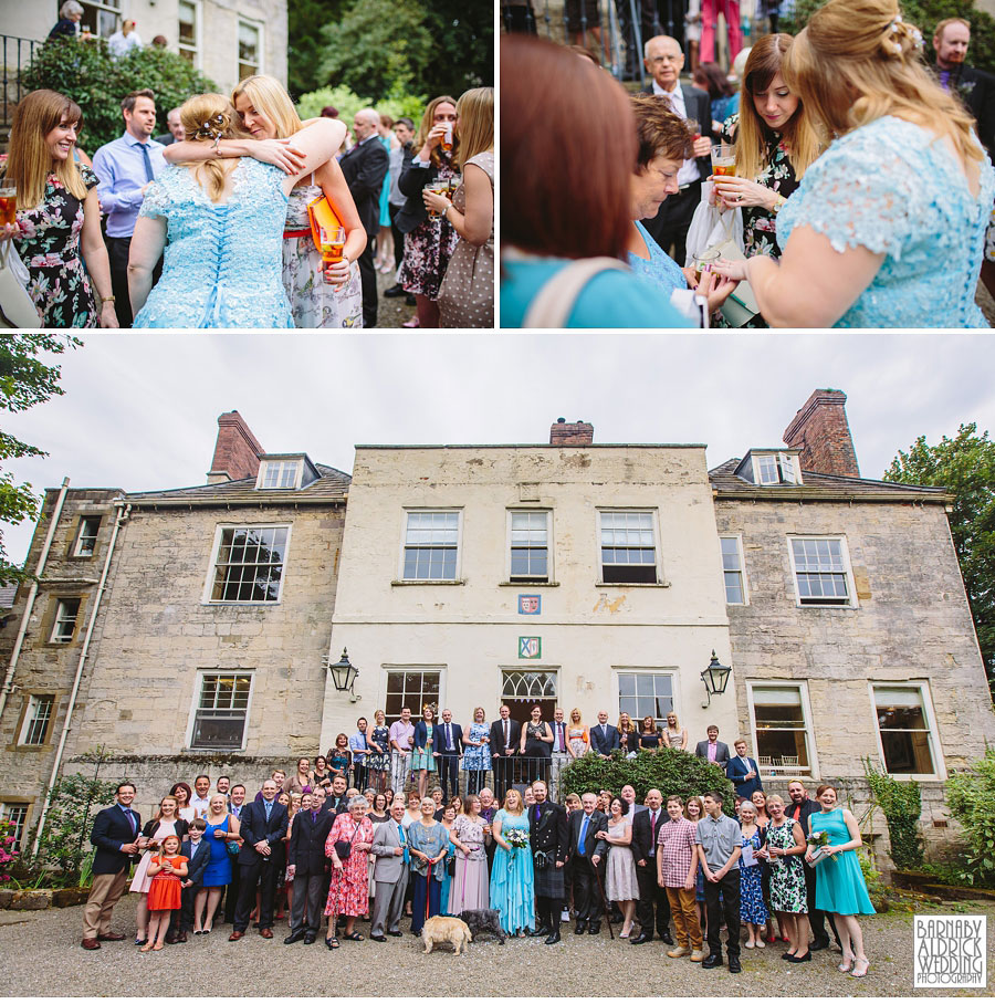 The Old Deanery Ripon Wedding Photography by Yorkshire Wedding Photographer Barnaby Aldrick 027