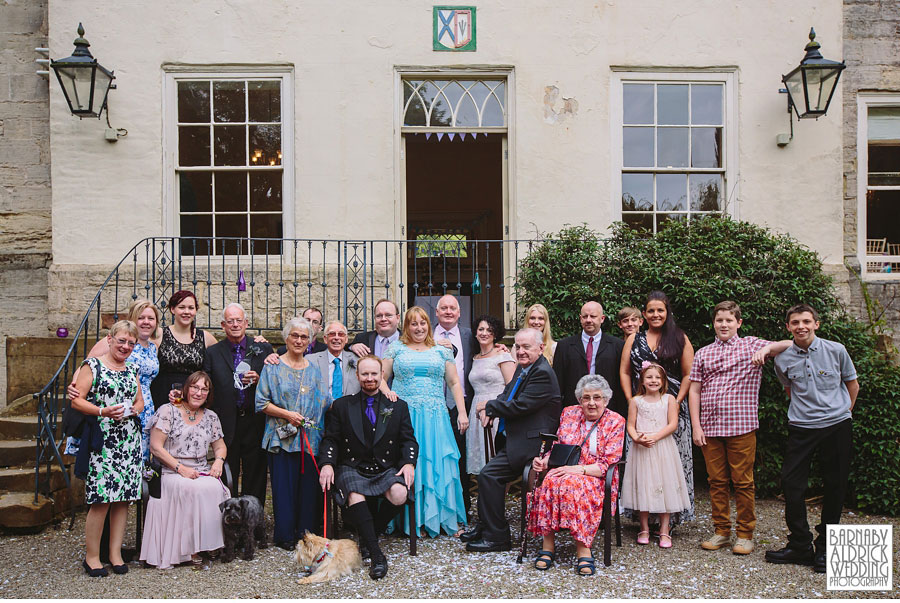 The Old Deanery Ripon Wedding Photography by Yorkshire Wedding Photographer Barnaby Aldrick 029