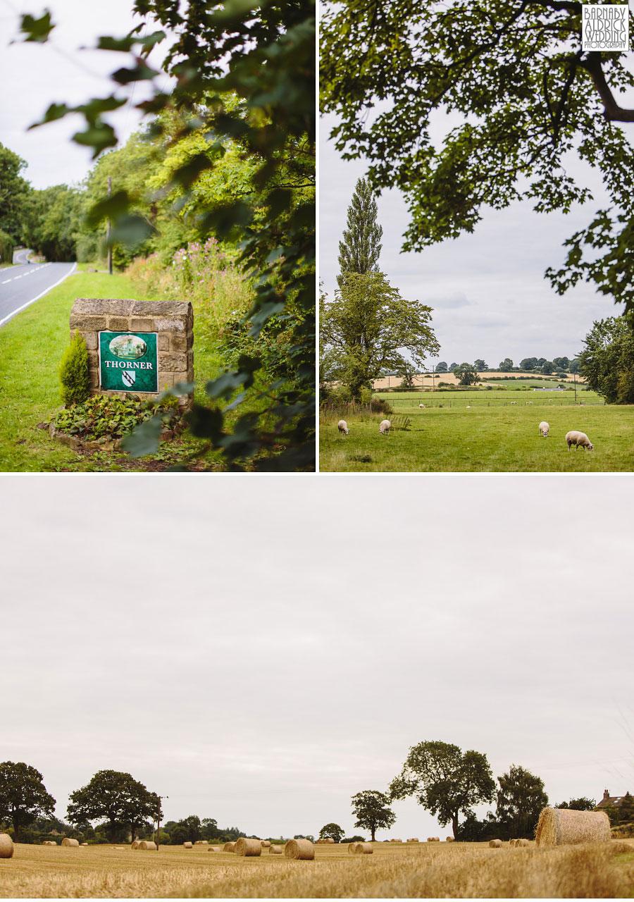 Thorner Village Hall Wedding Photography 002