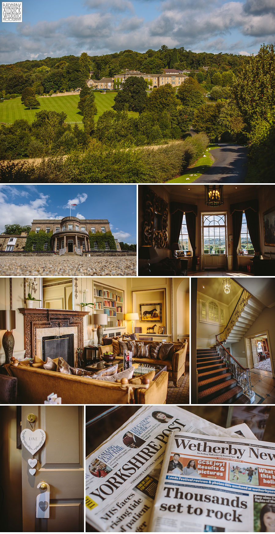 Wood Hall Linton Wetherby Wedding Photography 003