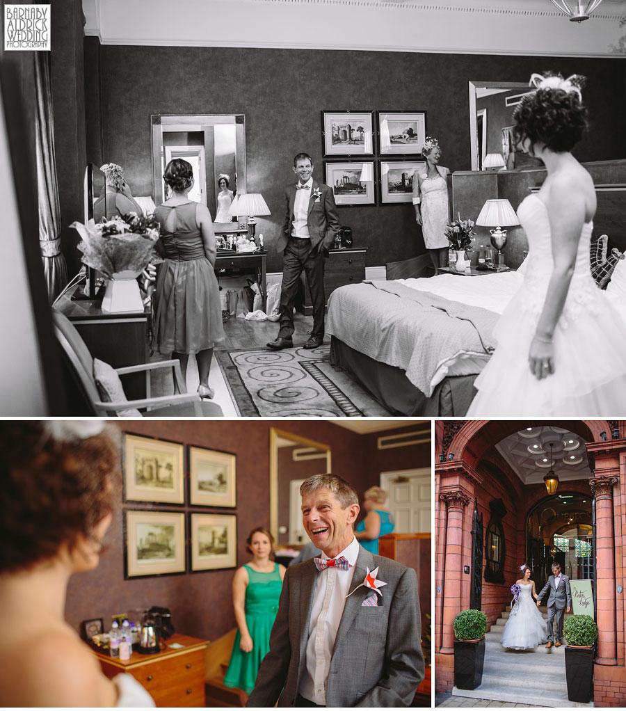 Thorner Village Hall Leeds Wedding Photography by Yorkshire Wedding Photographer Barnaby Aldrick 027