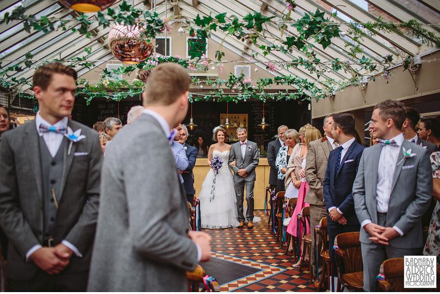 Thorner Village Hall Leeds Wedding Photography by Yorkshire Wedding Photographer Barnaby Aldrick 030