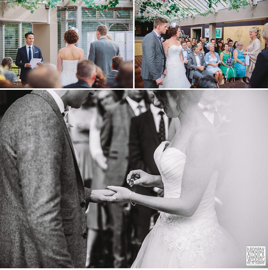 Thorner Village Hall Leeds Wedding Photography by Yorkshire Wedding Photographer Barnaby Aldrick 032