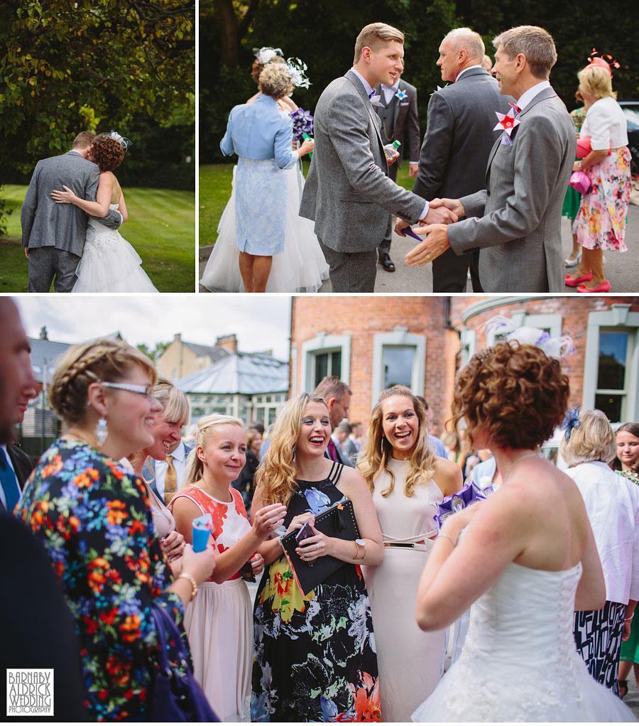Thorner Village Hall Leeds Wedding Photography by Yorkshire Wedding Photographer Barnaby Aldrick 034