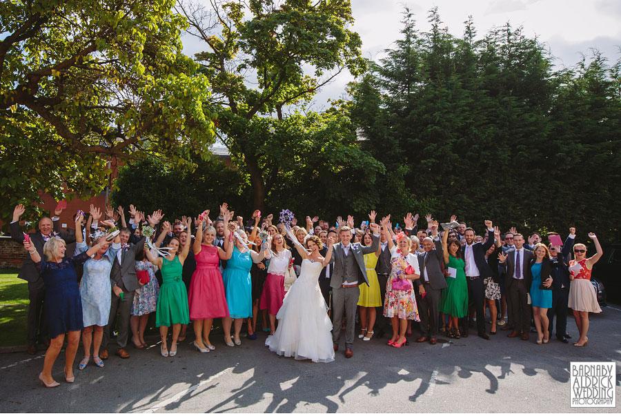 Thorner Village Hall Leeds Wedding Photography by Yorkshire Wedding Photographer Barnaby Aldrick 035