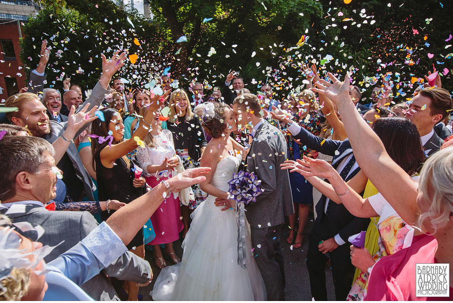 Thorner Village Hall Leeds Wedding Photography by Yorkshire Wedding Photographer Barnaby Aldrick 036