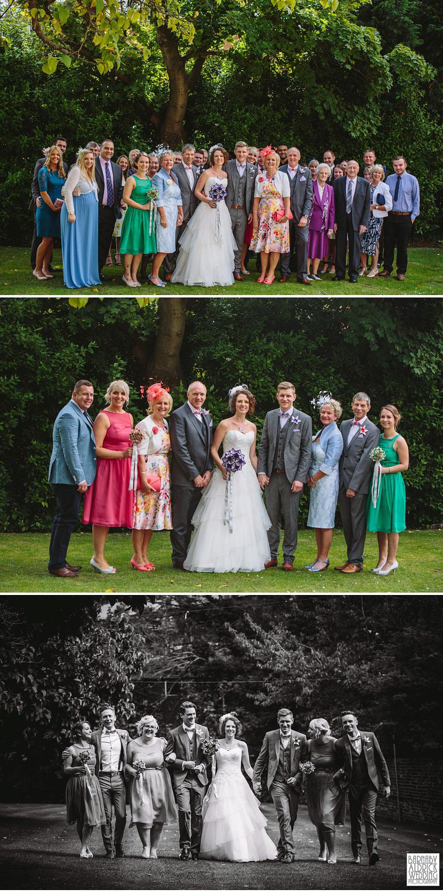 Thorner Village Hall Leeds Wedding Photography by Yorkshire Wedding Photographer Barnaby Aldrick 038