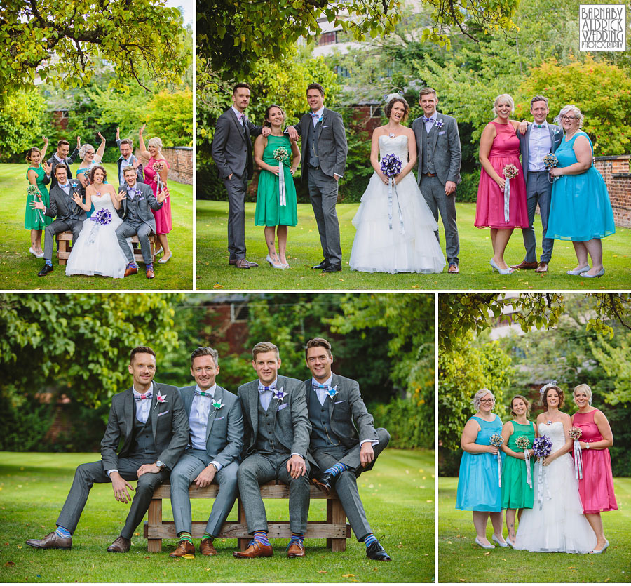Thorner Village Hall Leeds Wedding Photography by Yorkshire Wedding Photographer Barnaby Aldrick 039