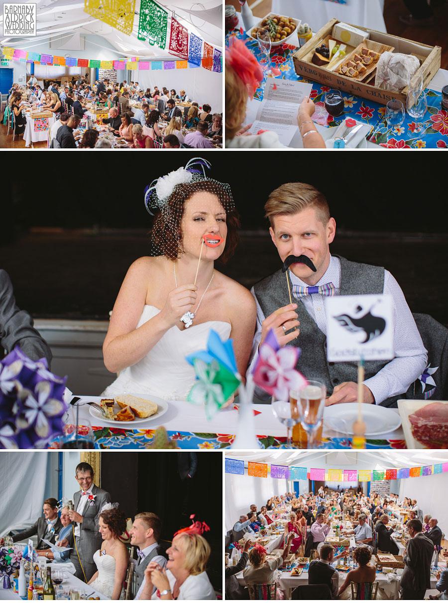Thorner Village Hall Leeds Wedding Photography by Yorkshire Wedding Photographer Barnaby Aldrick 052