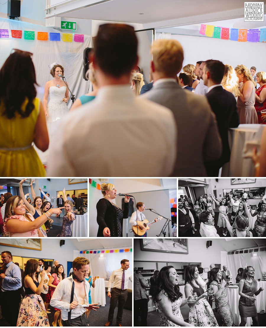 Thorner Village Hall Leeds Wedding Photography by Yorkshire Wedding Photographer Barnaby Aldrick 058