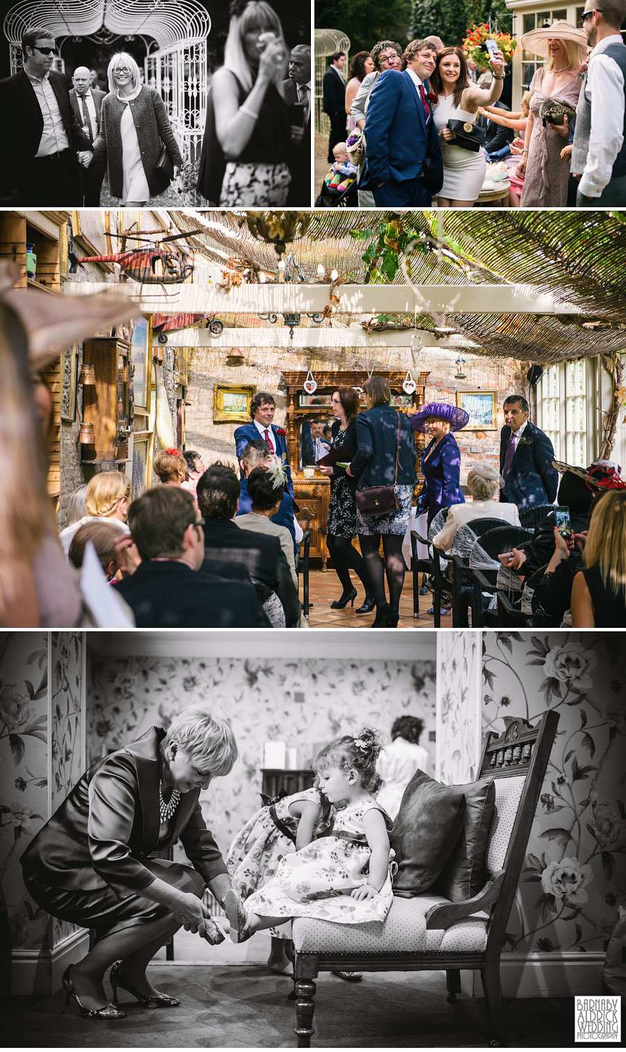 Crab and Lobster Thirsk Wedding Photography Yorkshire 012
