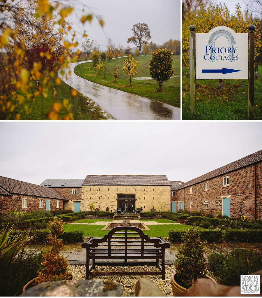 Priory Cottages Wedding Photography Wetherby Yorkshire 002