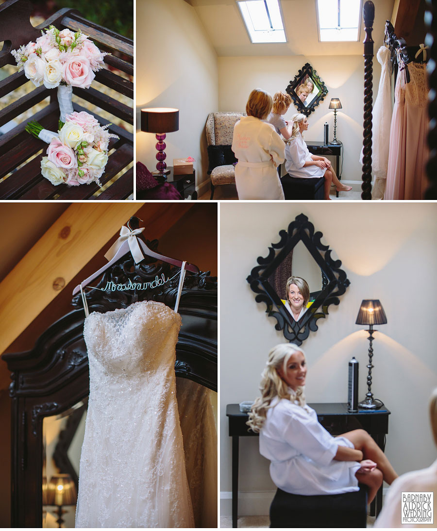 Priory Cottages Wedding Photography Wetherby Yorkshire 008