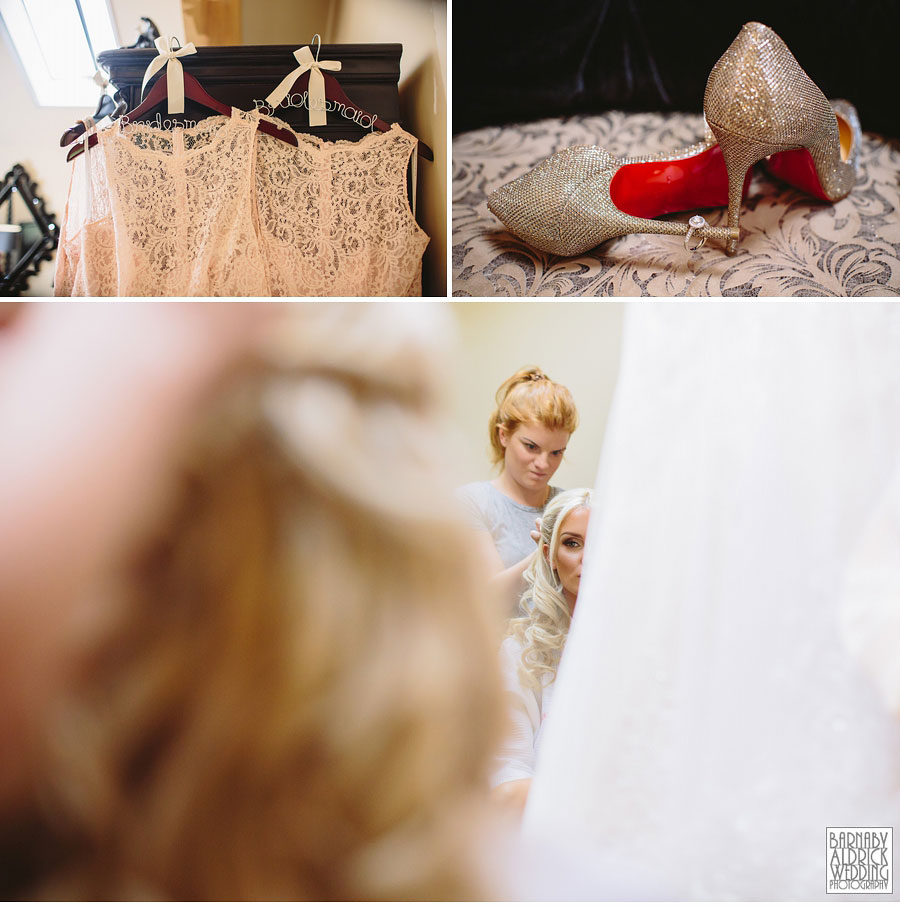 Priory Cottages Wedding Photography Wetherby Yorkshire 009