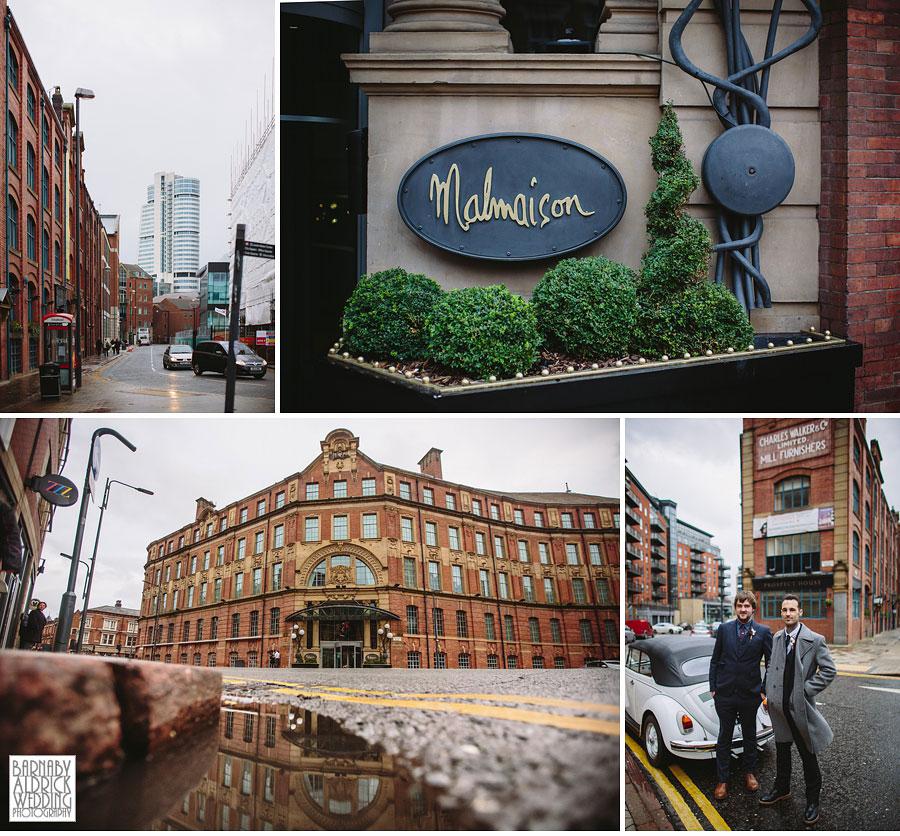 Malmaison Leeds City Centre Wedding Photography 012