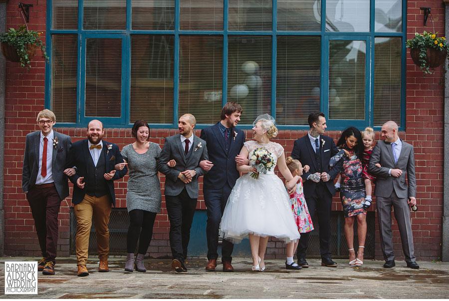 Malmaison Leeds City Centre Wedding Photography 030