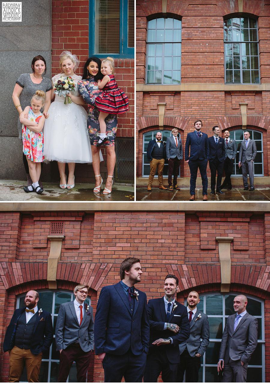Malmaison Leeds City Centre Wedding Photography 031