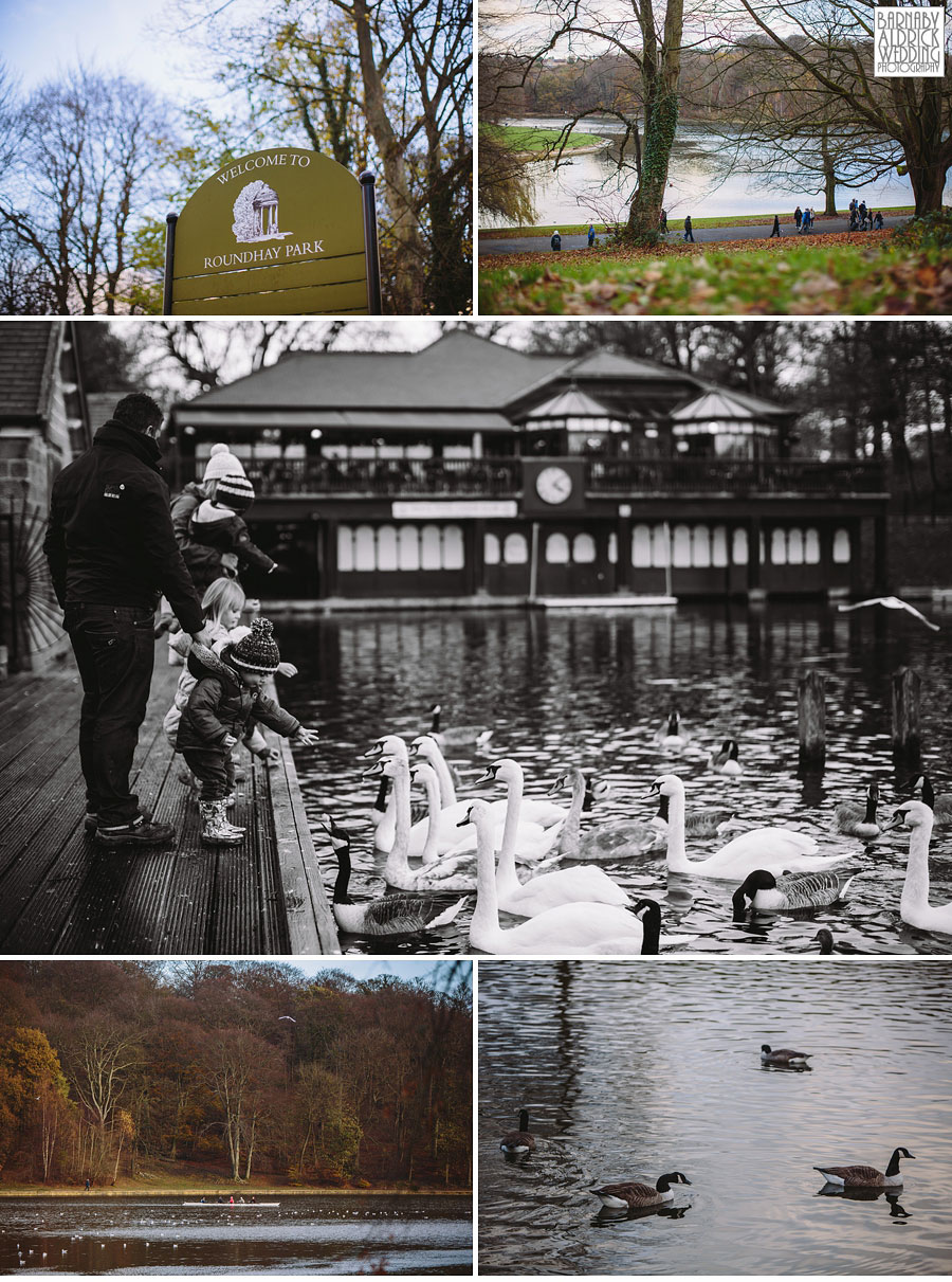 Roundhay Park Autumn Wedding Photography 002