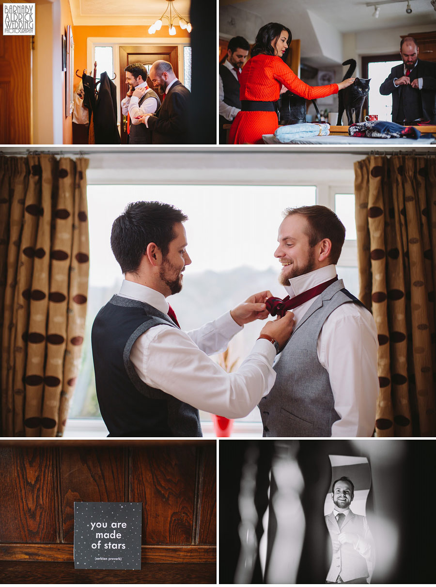 Wood Hall Winter Wedding Photography Wetherby 014