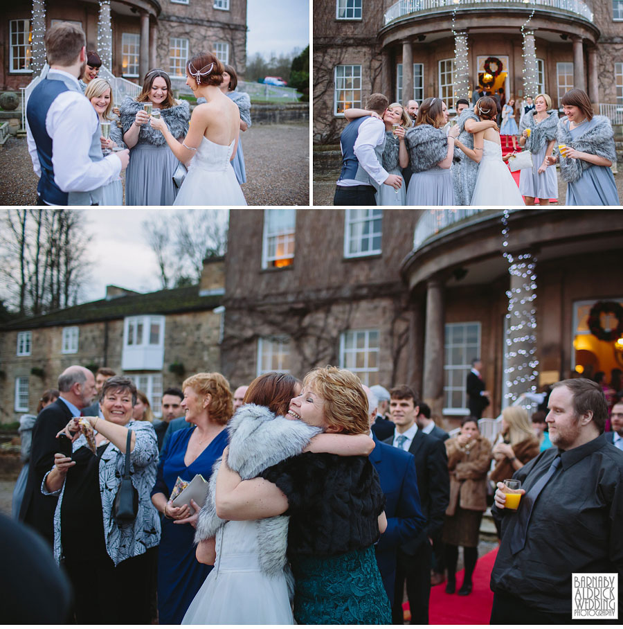 Wood Hall Winter Wedding Photography Wetherby 033