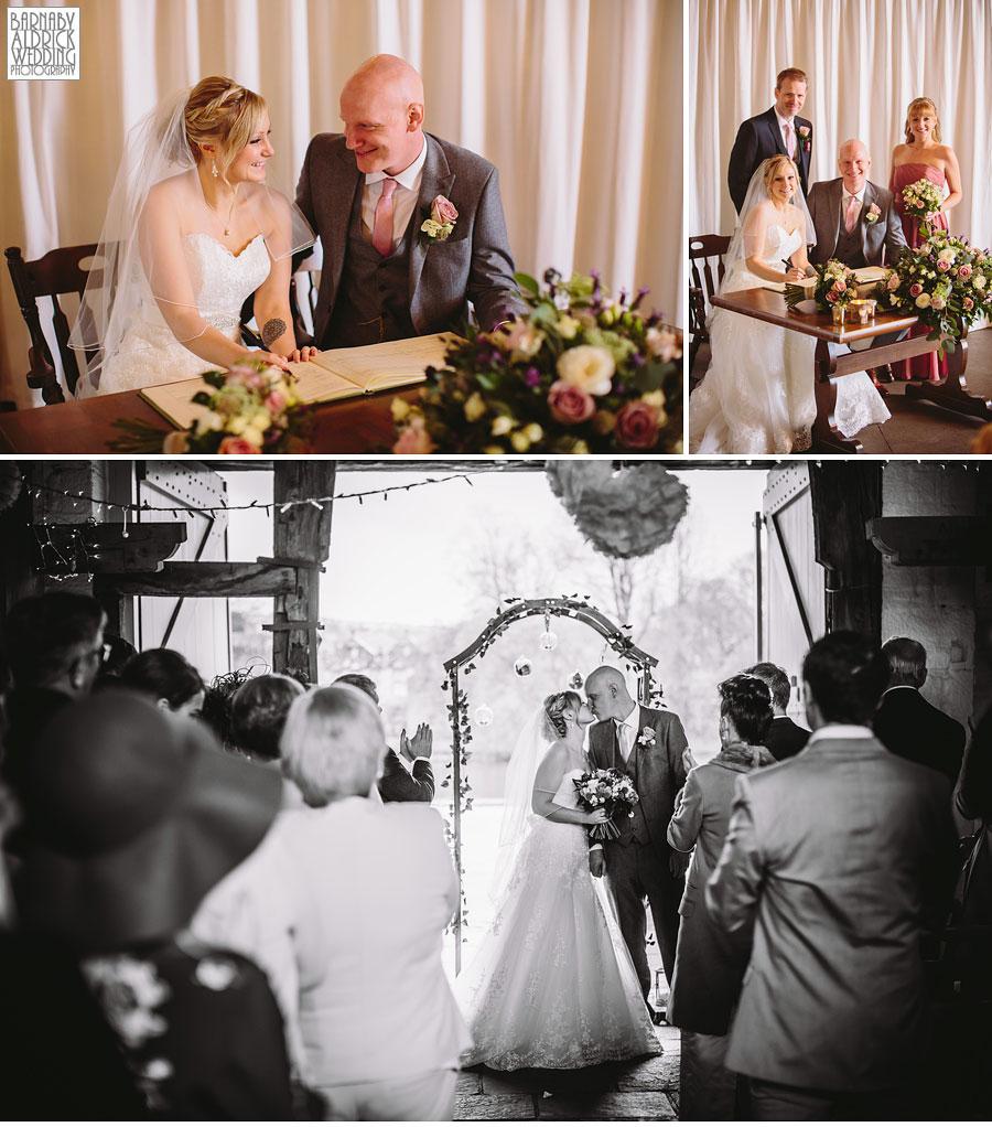 East Riddlesden Hall Wedding Photography by Yorkshire Wedding Photographer Barnaby Aldrick 032