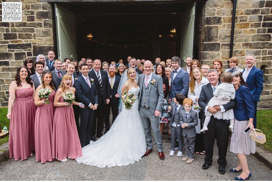 East Riddlesden Hall Wedding Photography by Yorkshire Wedding Photographer Barnaby Aldrick 034